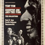 Tiny Tim, Country Joe & The Fish, The Collectors @ Pacific Colisem