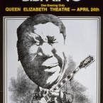 B.B. King @ Queen Elizabeth Theater
