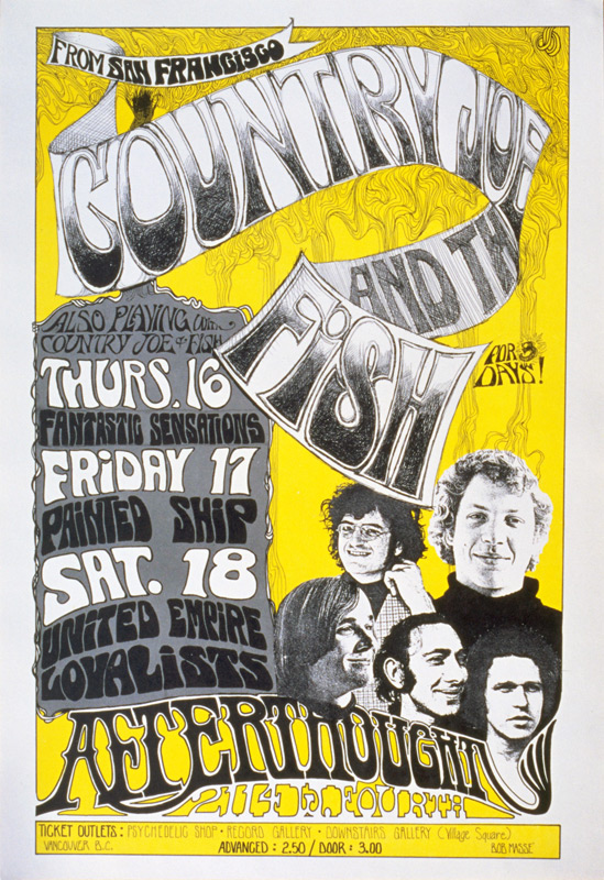 Country Joe & The Fish @ The Afterthought