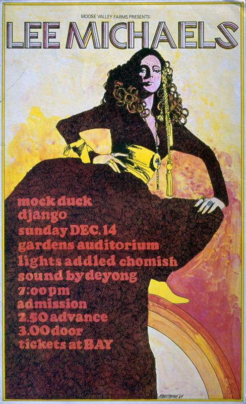 Lee Michaels, Mock Duck @ Gardens Auditorium