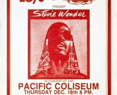 Stevie Wonder @ Pacific Coliseum