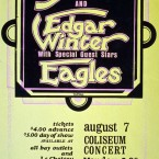 Yes, Edgar Winter, and The Eagles @ The Coliseum