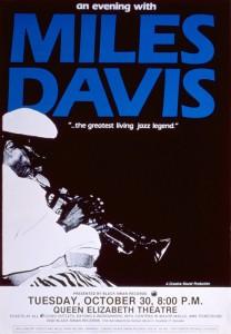 Miles Davis @ Queen Elizabeth Theatre