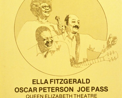 Ella Fitzgerald, Oscar Peterson, Joe Pass @ Queen Elizabeth Theatre
