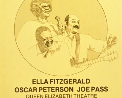 Ella Fitzgerald, Oscar Peterson, Joe Pass @ Queen Elizabeth Theatre