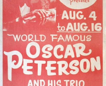 Oscar Peterson @ Isy's Supper Club
